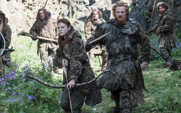 TV Show Game Of Thrones Ygritte Tormund Giantsbane Rose Leslie Kristofer Hivju HD Wallpaper | Background Image
