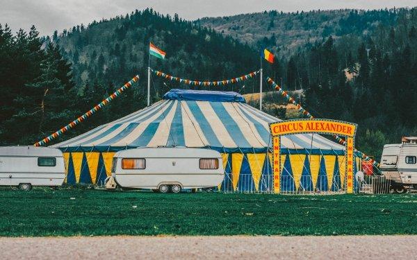 Photography Circus Caravan Tent HD Wallpaper | Background Image