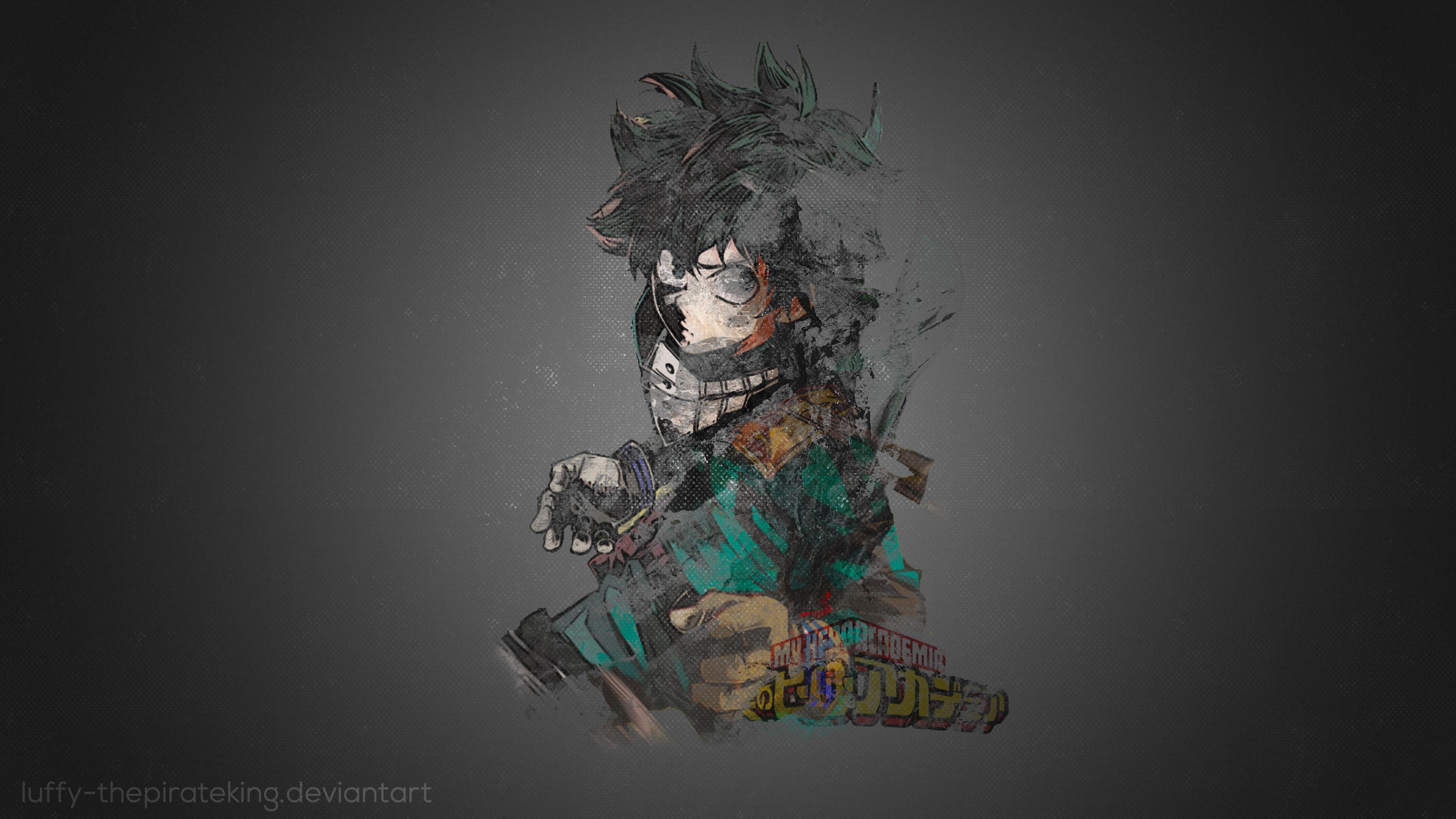 My Hero Academia 4k Ultra Hd Wallpaper Background Image