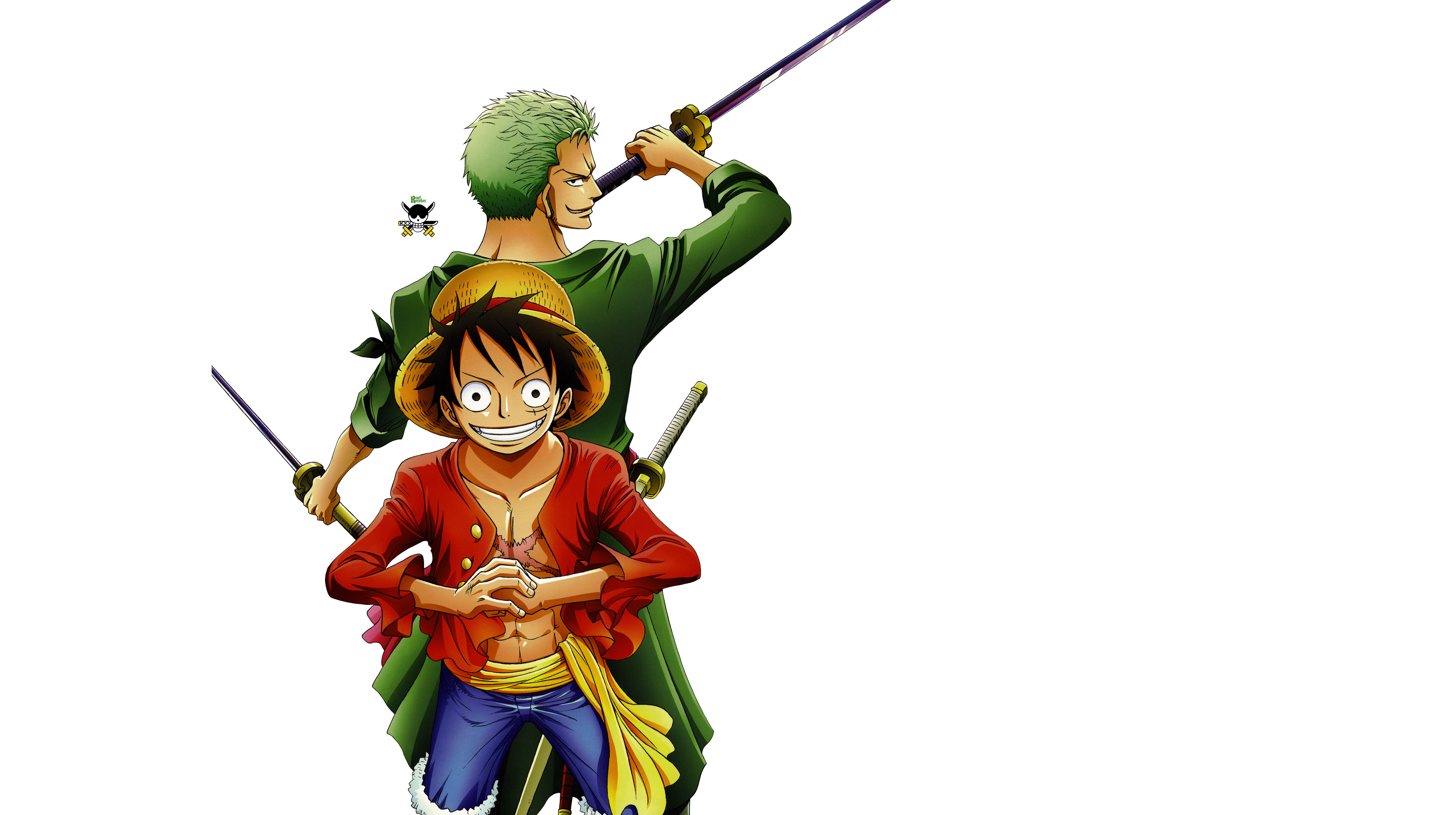 Zorro And Luffy 4k Ultra Hd Wallpaper Background Image 3860x2160
