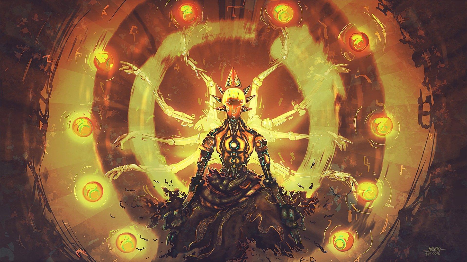 51 Zenyatta Overwatch Hd Wallpapers Background Images