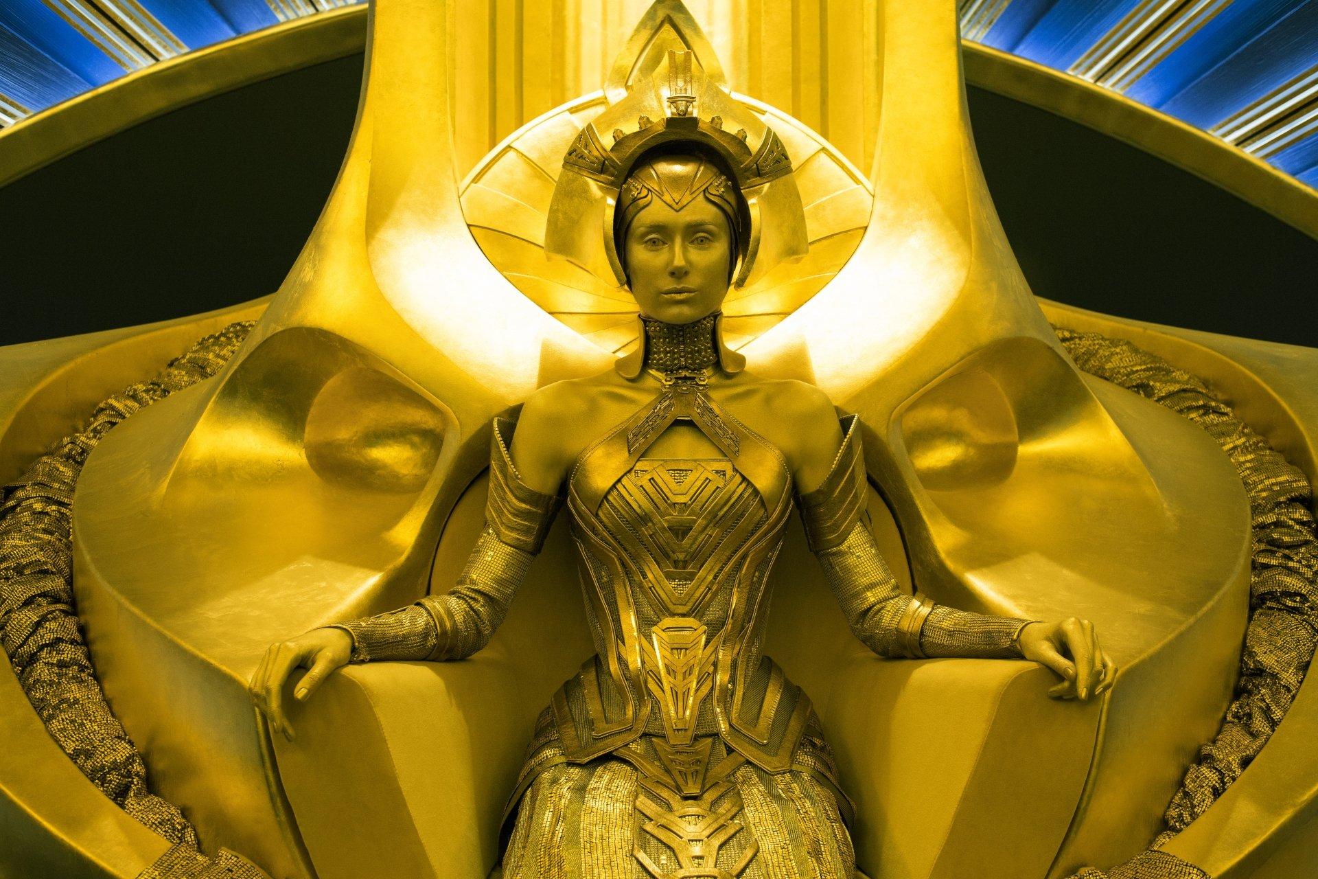 Movie - Guardians of the Galaxy Vol. 2  Elizabeth Debicki Ayesha (Guardians Of The Galaxy) Wallpaper