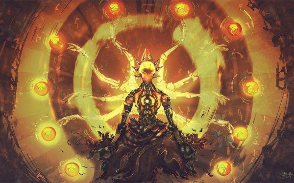 Video Game Overwatch Zenyatta HD Wallpaper | Background Image