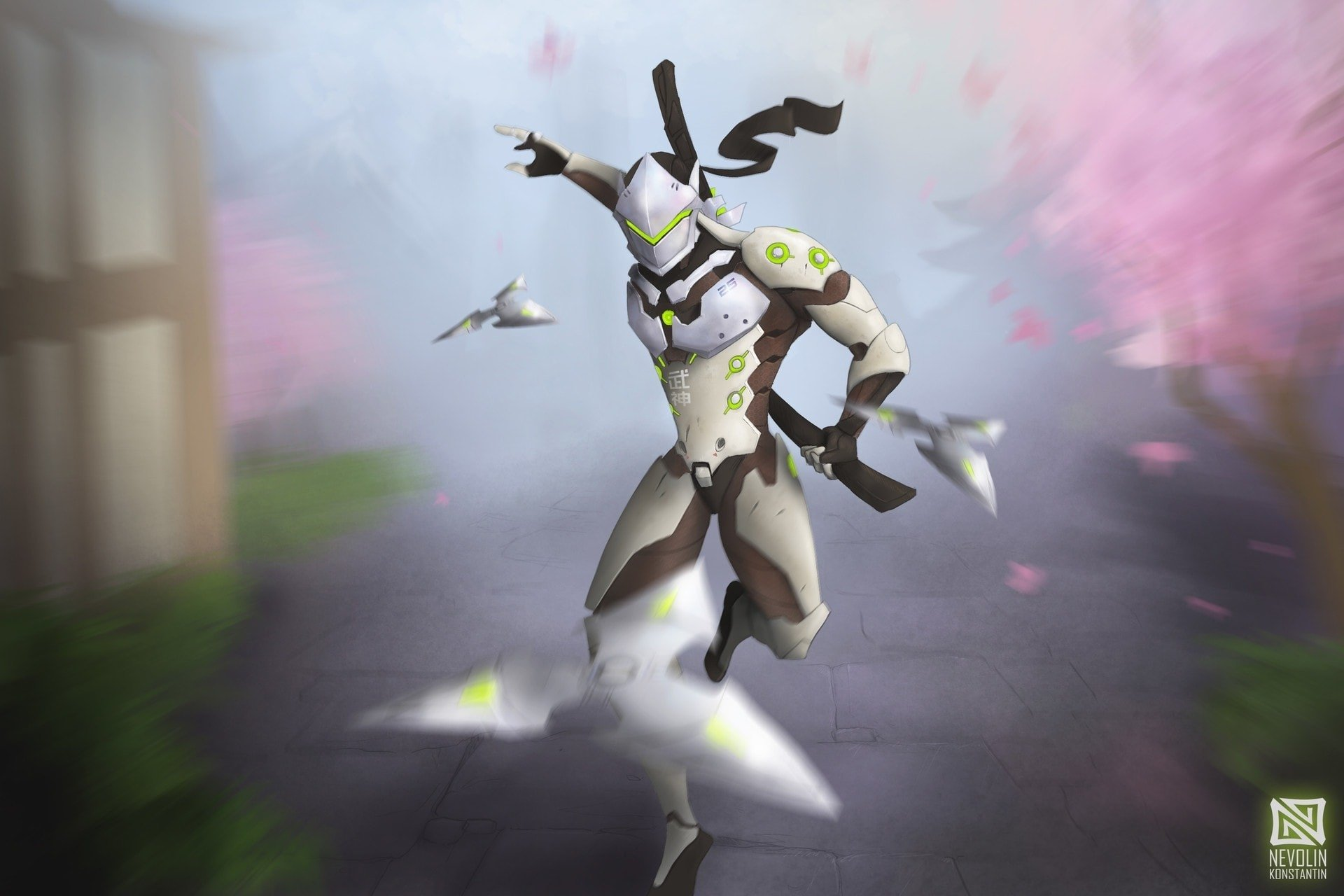 Overwatch full hd wallpaper and background 1920x1280 - Video Game Overwatch Genji Overwatch Wallpaper