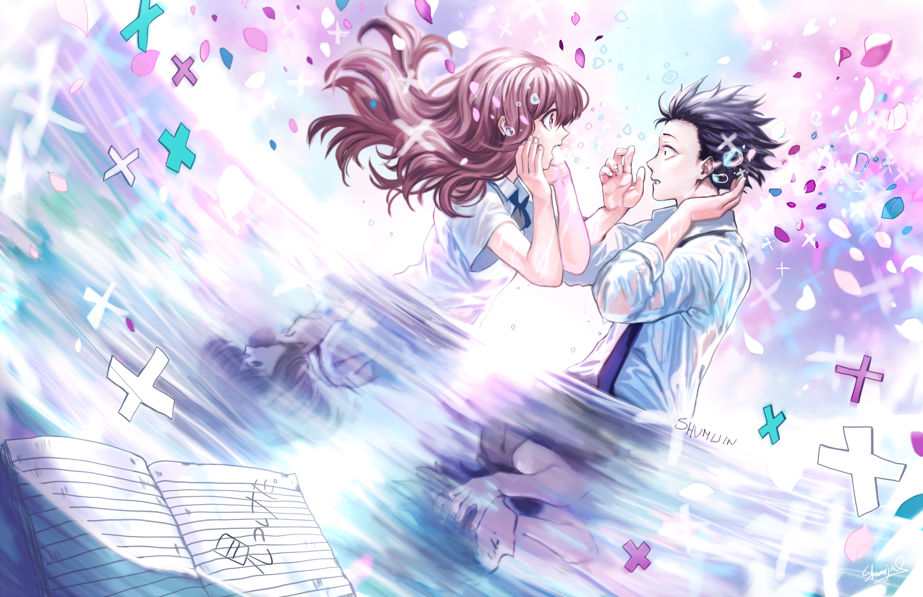 Koe No Katachi Wallpaper And Background Image 1800x1164 Id