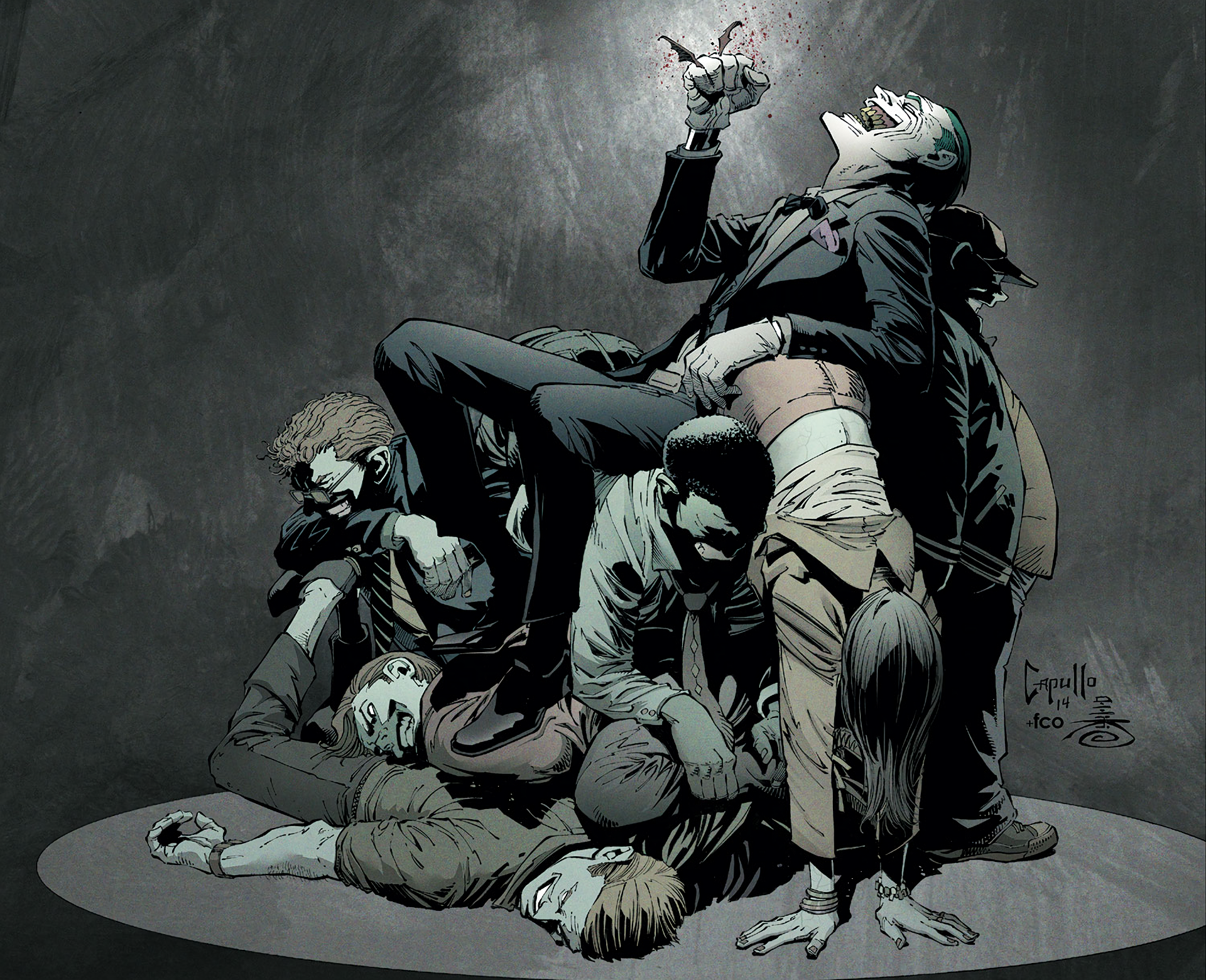 The Joker: Endgame (New 52) HD Wallpaper | Background ...New 52 Joker Wallpaper