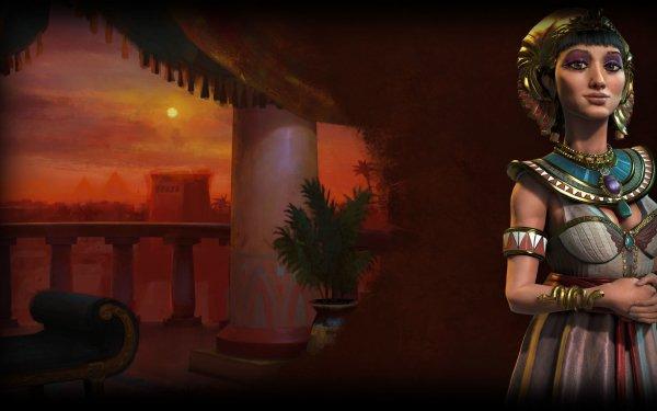 Video Game Civilization VI Civilization Cleopatra HD Wallpaper   Background Image