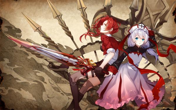 Anime Benghuai Xueyuan Murata Himeko Theresa Apocalypse HD Wallpaper | Background Image
