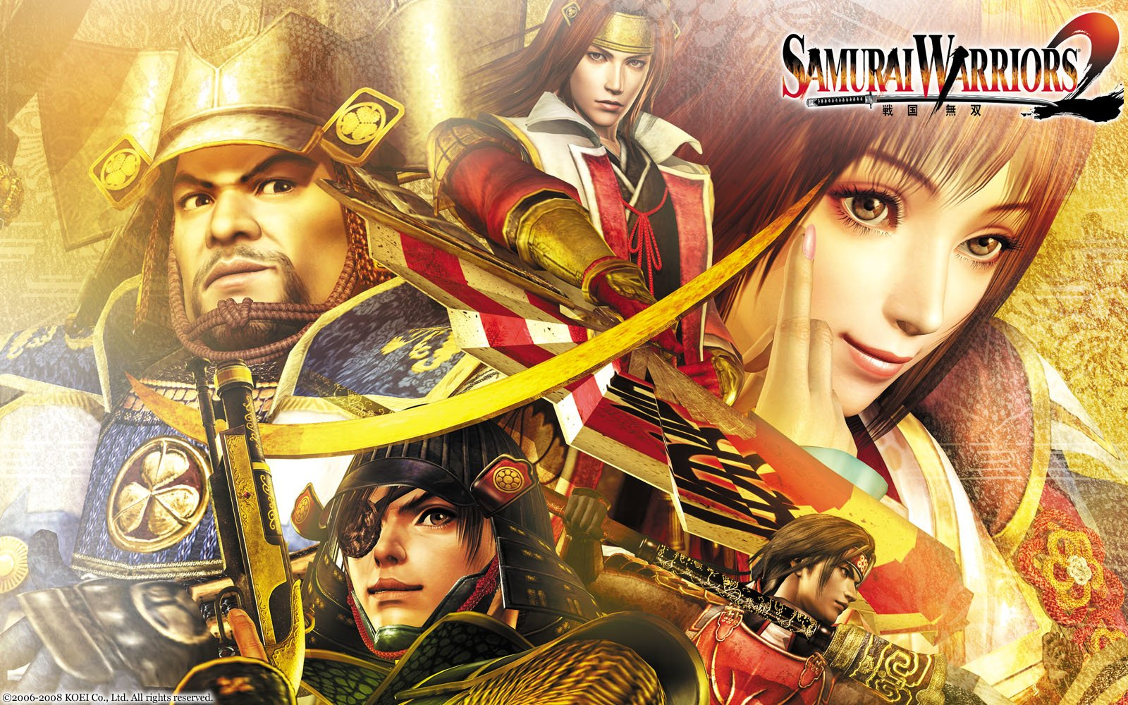 Samurai Warriors 2 Fondo De Pantalla And Fondo De Escritorio