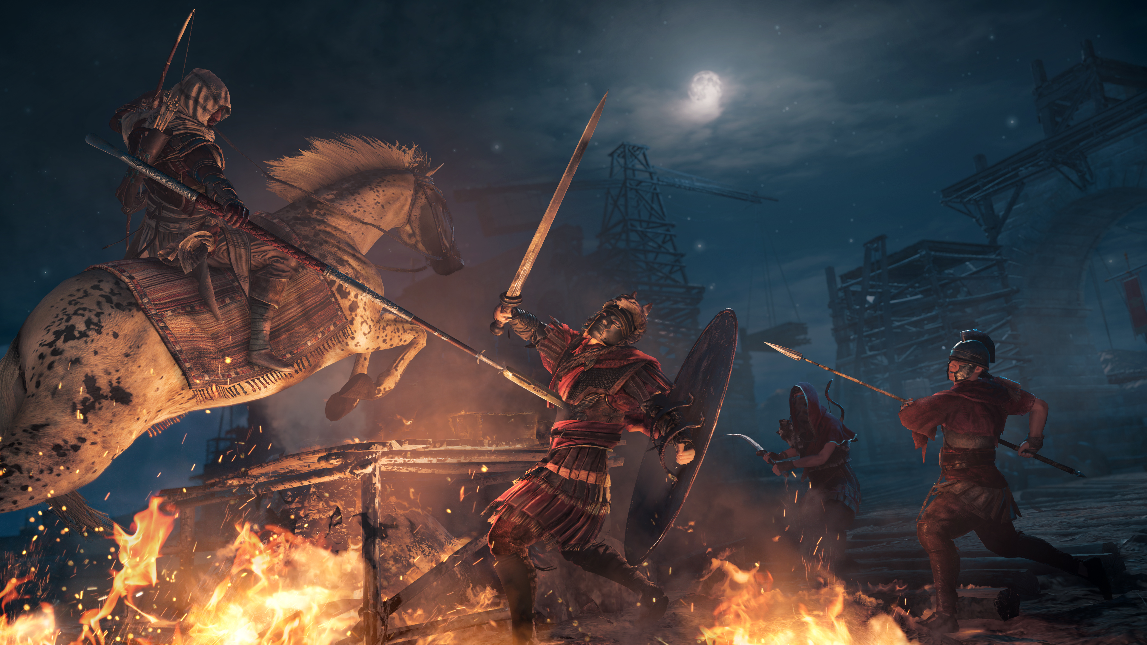 Assassins Creed Origins 4k Ultra Hd Wallpaper Background