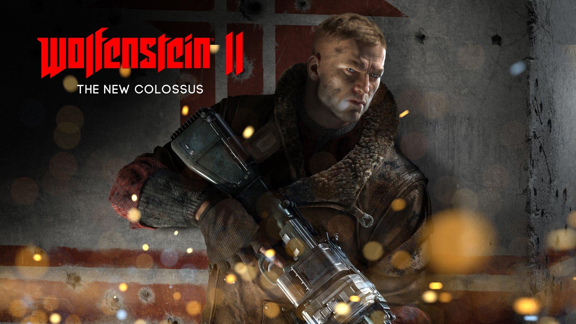 Video Game - Wolfenstein II: The New Colossus  B.J. Blazkowicz Wallpaper