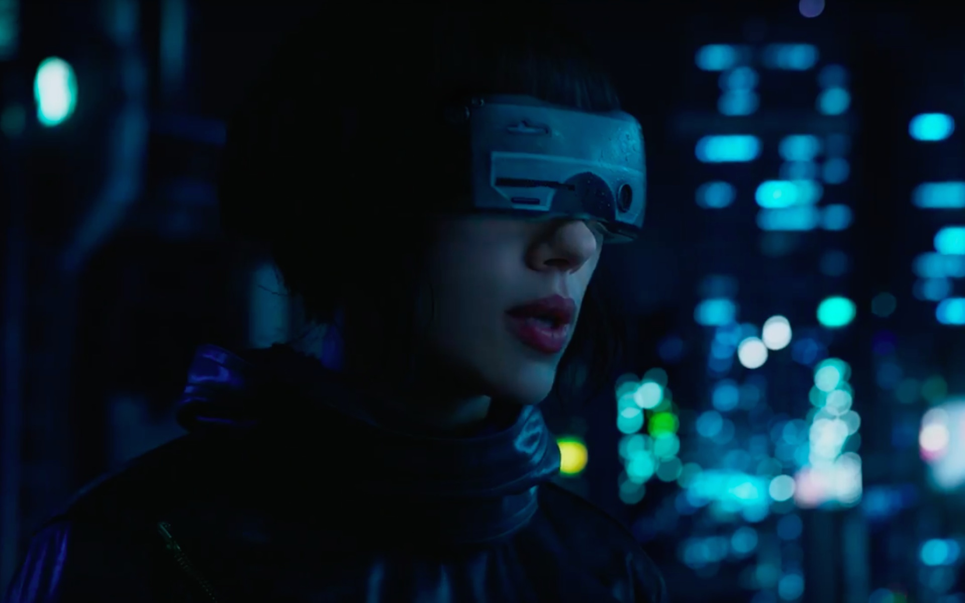 Ghost In The Shell 2017 Hd Wallpaper Background Image