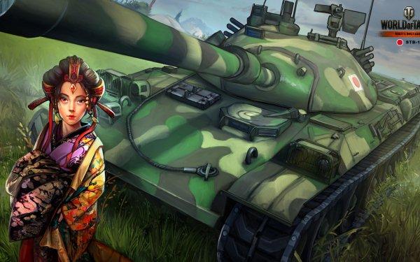 Video Game World Of Tanks Tank Type 74 Geisha HD Wallpaper | Background Image