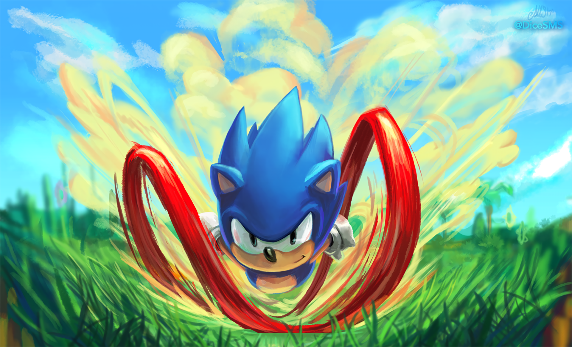 Video Game - Sonic Mania  Sonic the Hedgehog Wallpaper