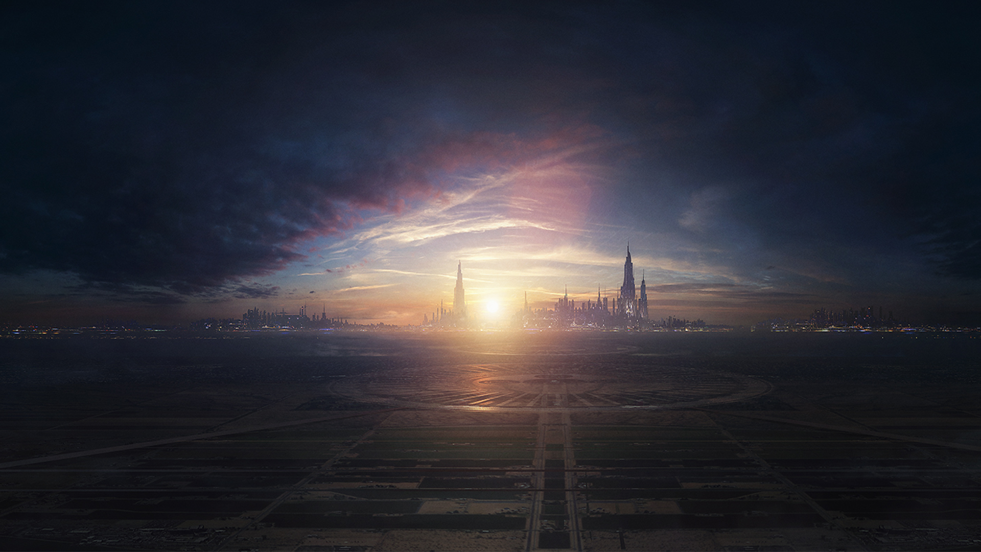 Sci Fi - Landscape  City Planet Sci Fi Manipulation Wallpaper