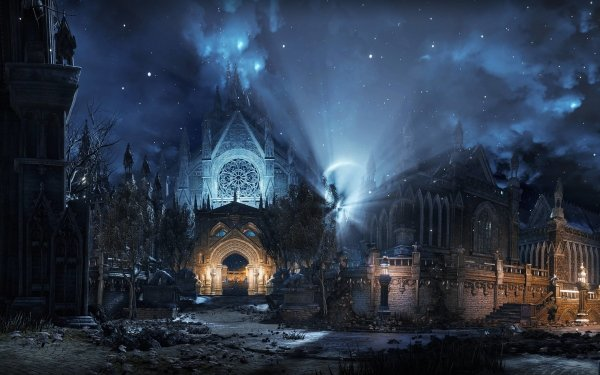 Videojuego Dark Souls III Dark Souls Iglesia Fondo de pantalla HD | Fondo de Escritorio