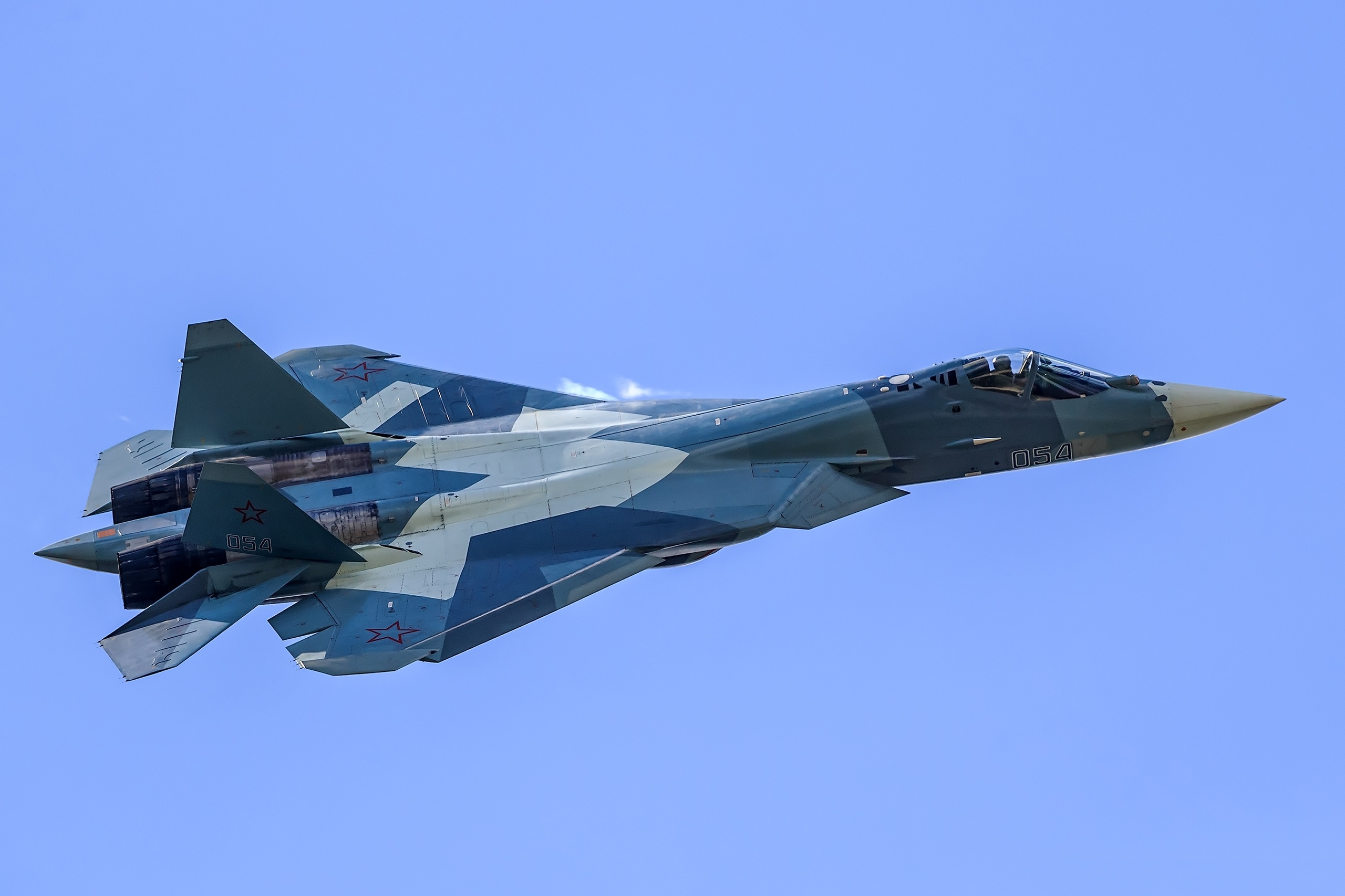 Sukhoi Su-57 Full HD Wallpaper and Background Image ...