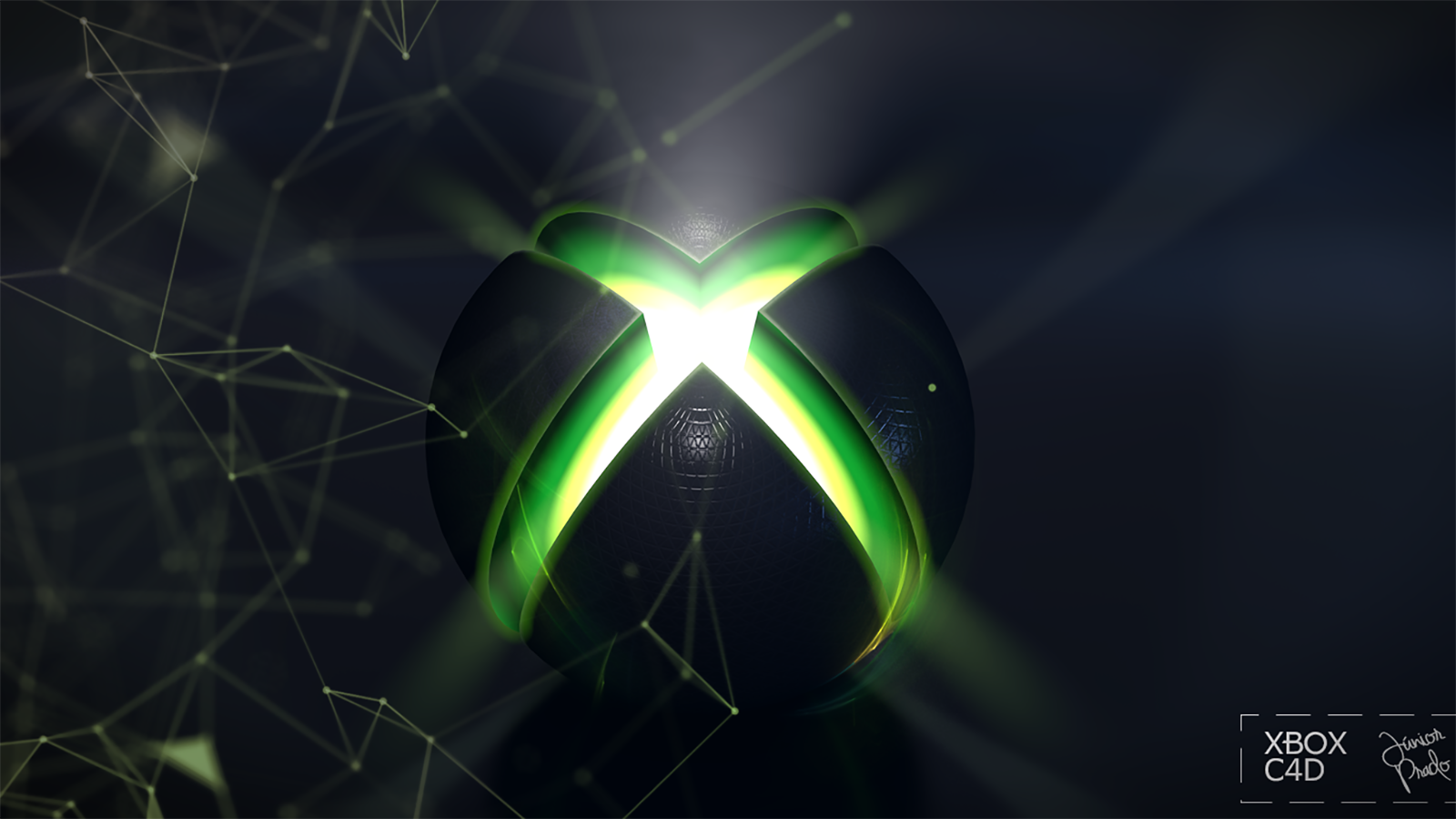 Xbox One Wallpapers: XBOX ONE 3D CINEMA 4D WALLPAPER GAMES 2017 Wallpaper And
