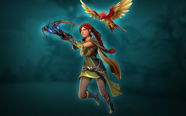Video Game Paladins Cassie HD Wallpaper   Background Image
