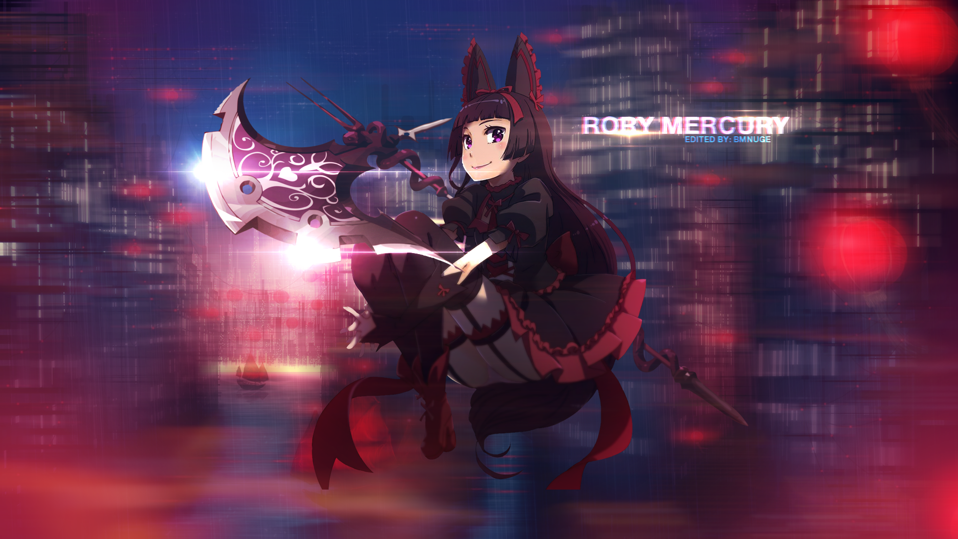 Rory Mercury Hd Wallpaper Background Image 1920x1080 Id