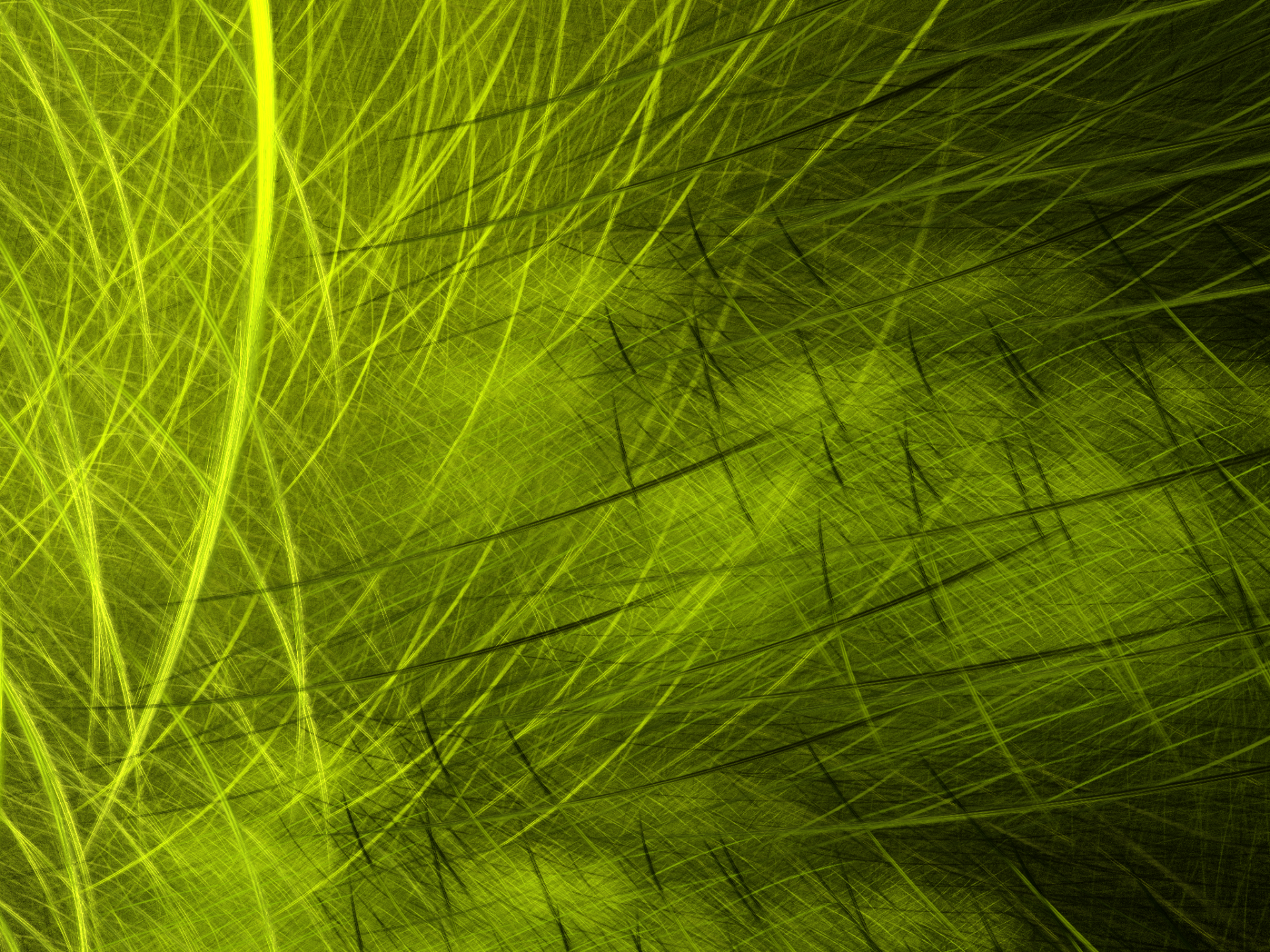 Abstract - Fractal  Abstract Apophysis (software) Green Lines Digital Art Artistic Wallpaper