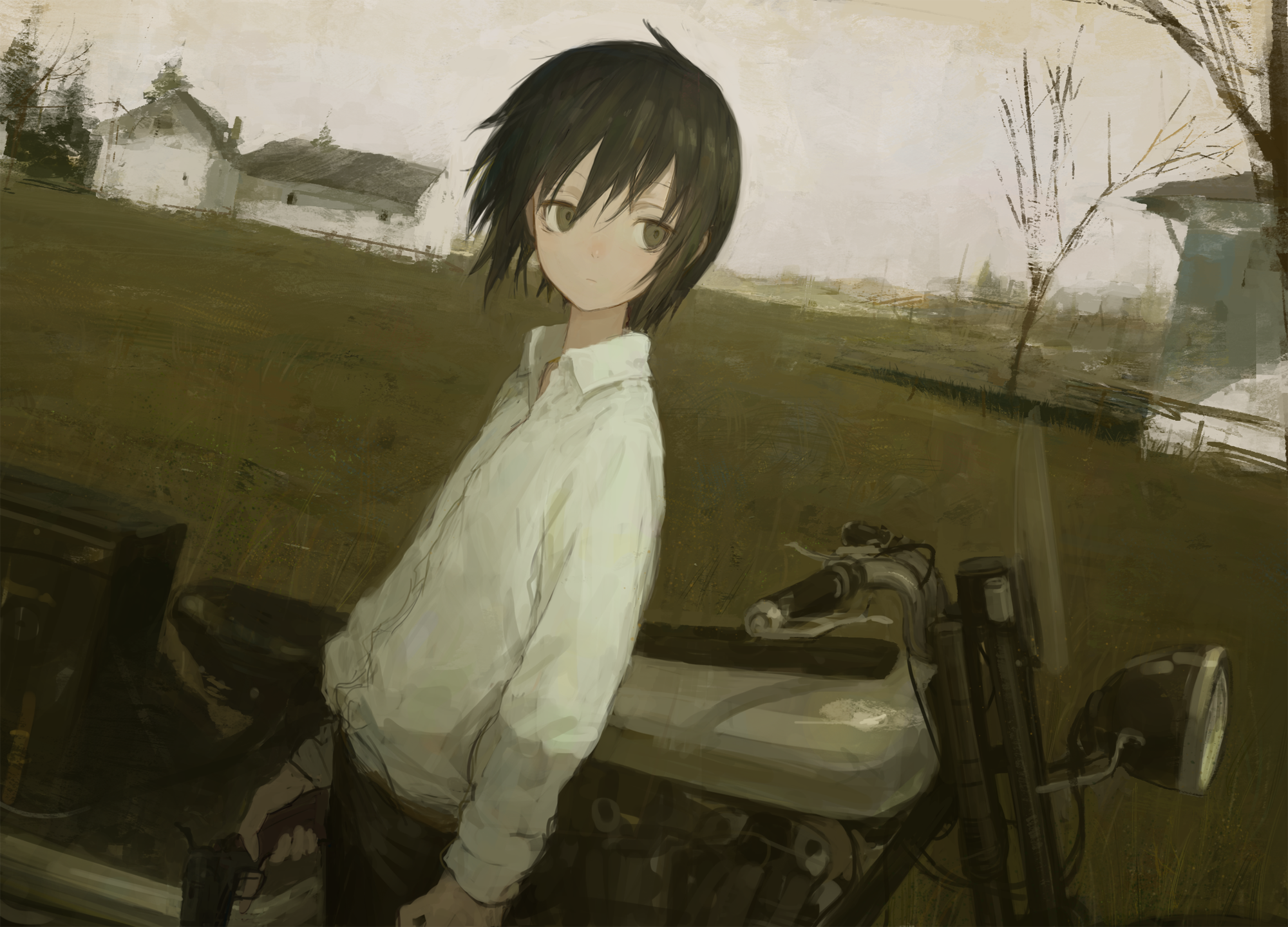 32 Kino S Journey Hd Wallpapers Background Images Wallpaper Abyss