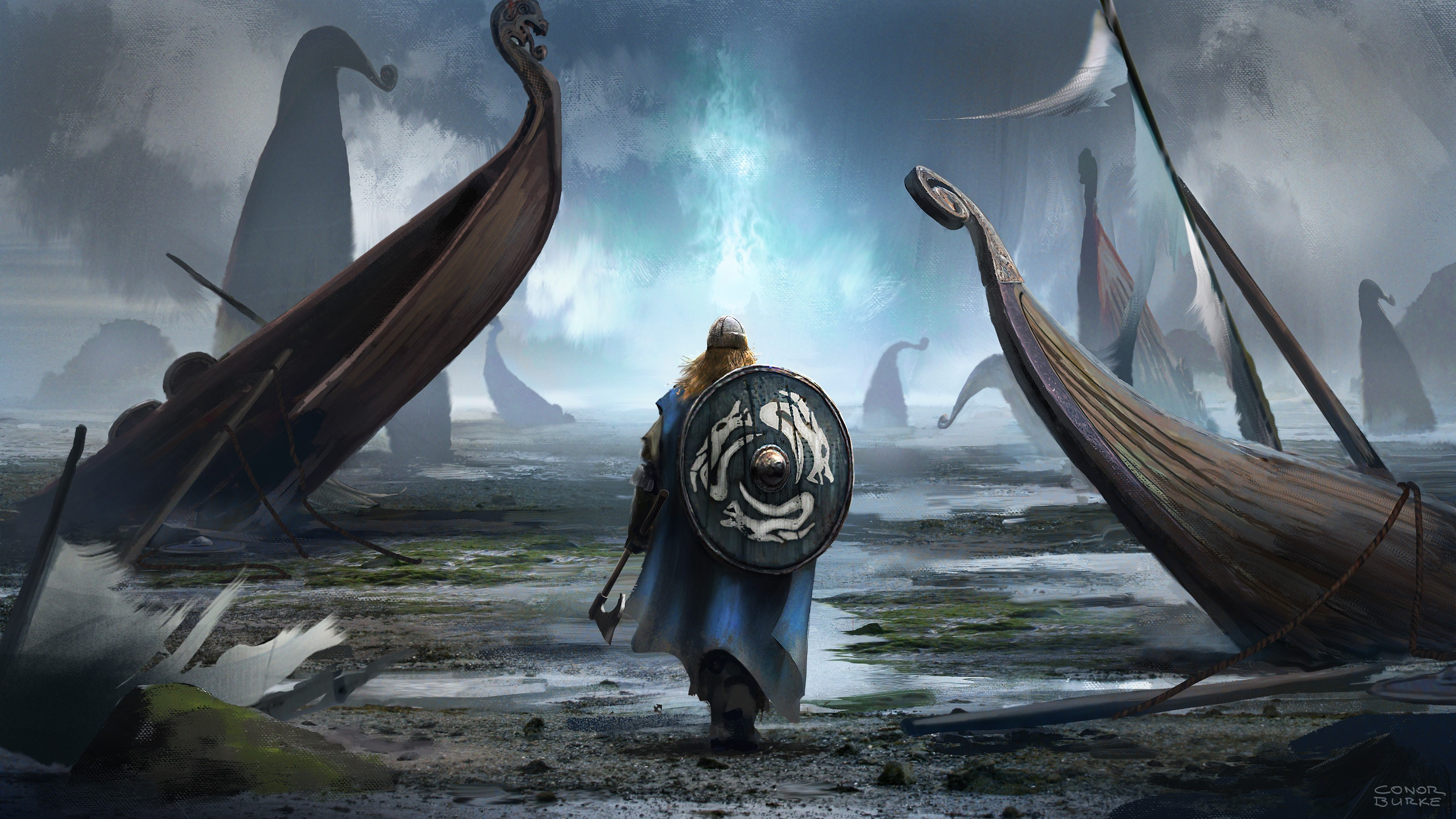 Viking HD Wallpaper | Background Image | 3500x1969 | ID:877062 - Wallpaper Abyss
