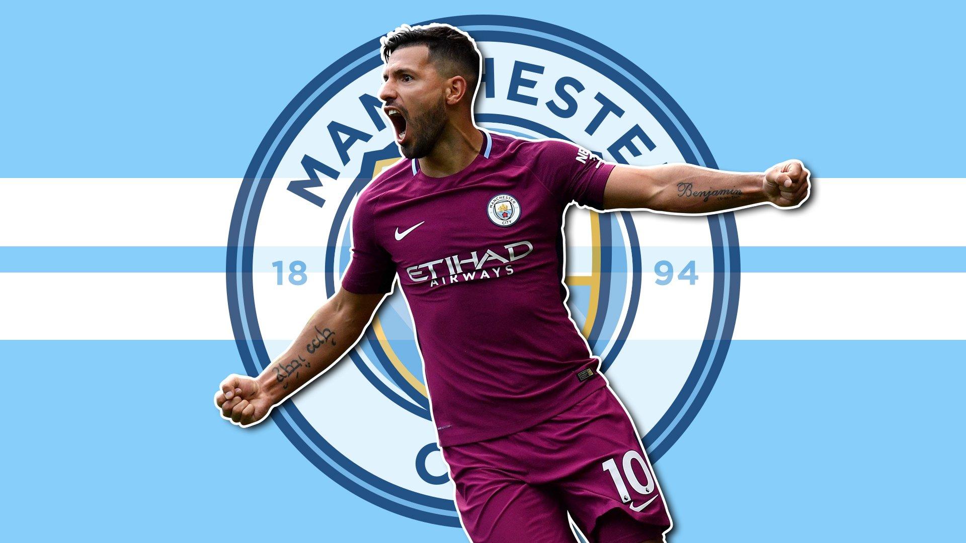 Agüero Wallpapers: Manchester City - Sergio Aguero HD Wallpaper