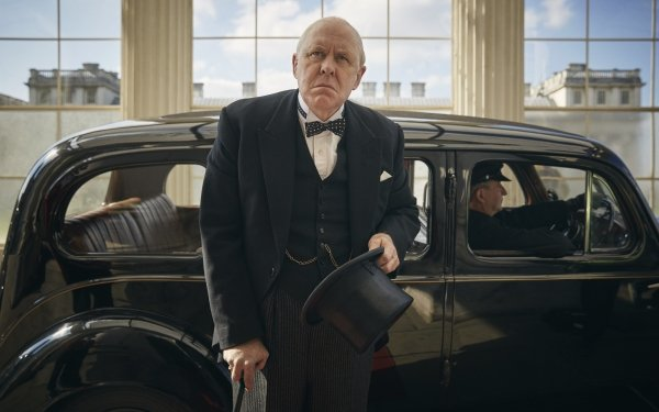 TV Show The Crown Winston Churchill John Lithgow HD Wallpaper | Background Image