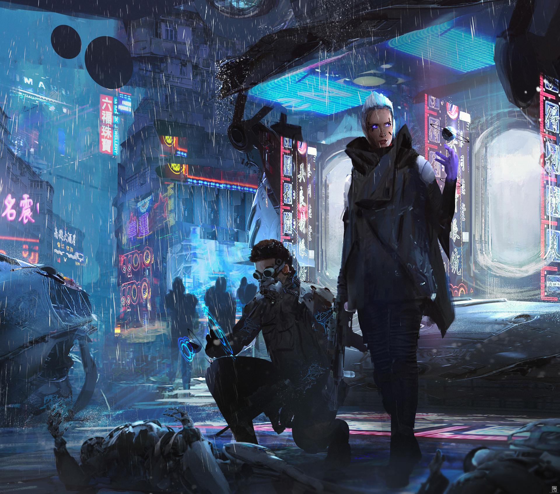 Cyberpunk HD Wallpaper