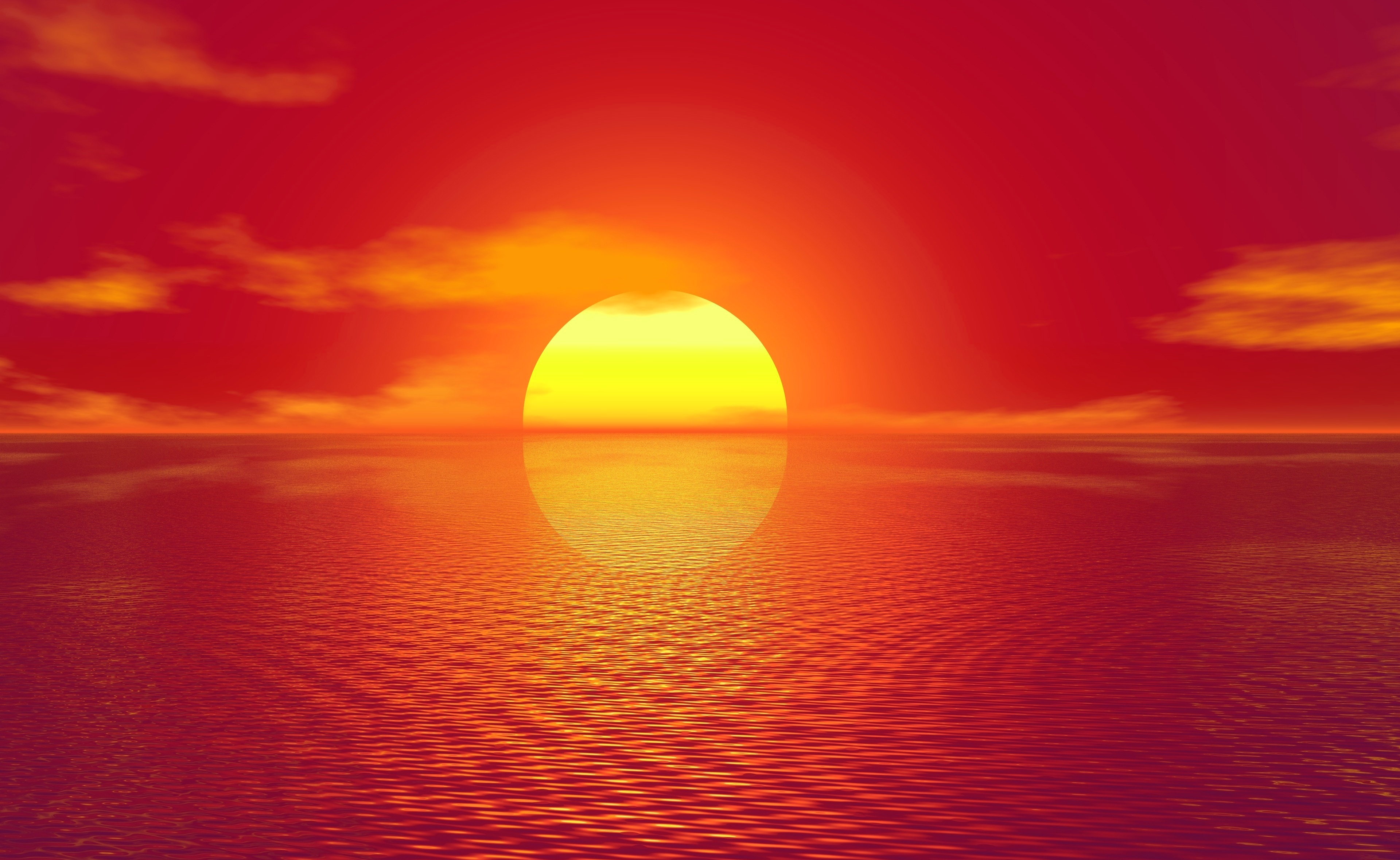 Sunset 4k Ultra Hd Wallpaper Background Image 3840x2358 Id