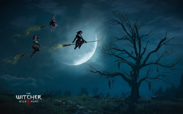 Video Game The Witcher 3: Wild Hunt The Witcher Yennefer of Vengerberg Triss Merigold Keira Metz HD Wallpaper | Background Image