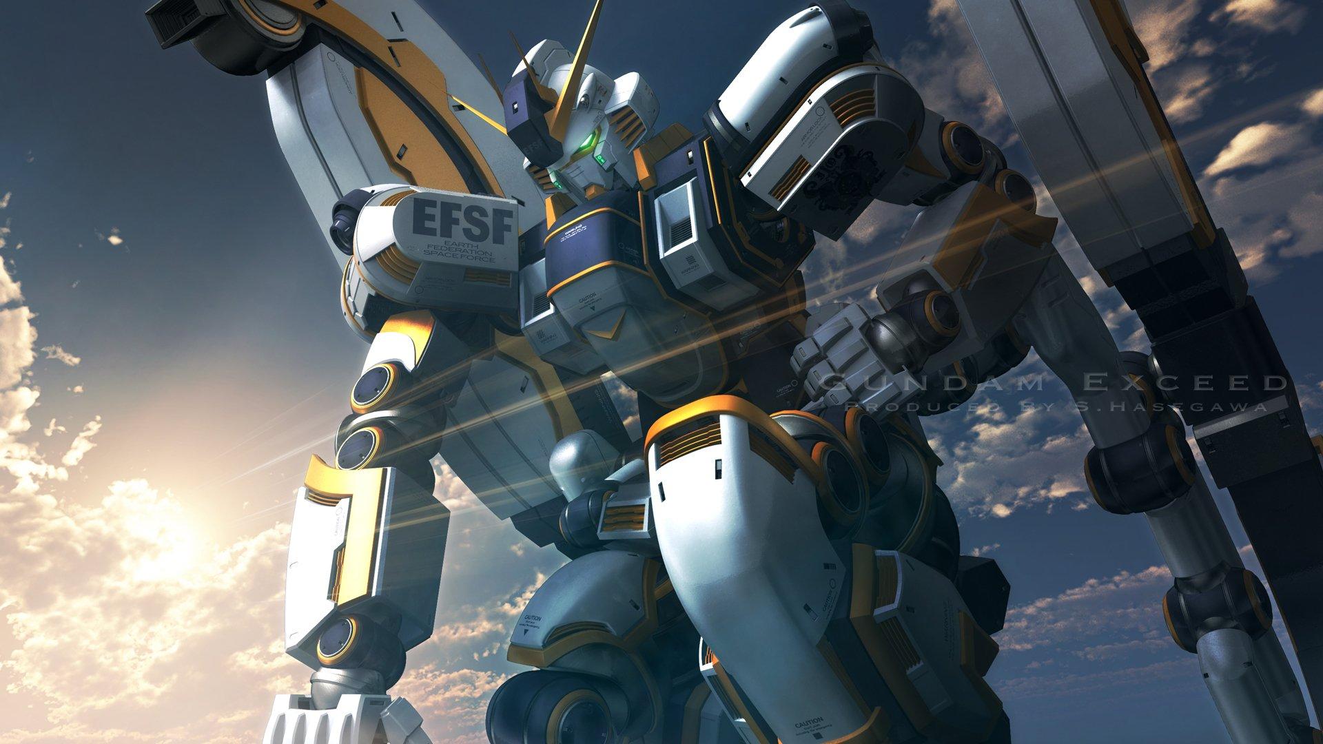 Mobile Suit Gundam Thunderbolt Hd Wallpaper Background