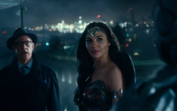 Movie Justice League Gal Gadot Wonder Woman Commissioner Gordon J.K. Simmons HD Wallpaper | Background Image