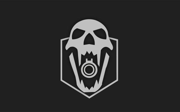 Video Game Tom Clancy's Rainbow Six: Siege Blackbeard Skull Operation Dust Line Minimalist HD Wallpaper   Background Image