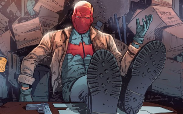 Comics Red Hood and the Outlaws Red Hood Jason Todd Boots DC Comics HD Wallpaper | Background Image