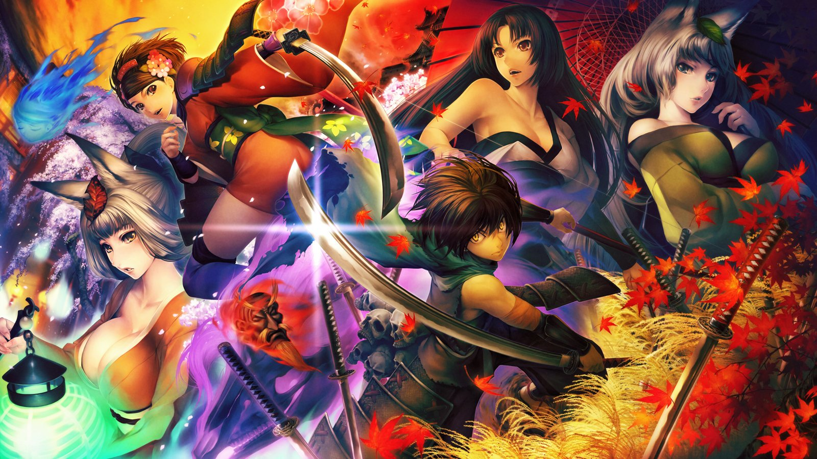 Muramasa The Demon Blade Fondo De Pantalla And Fondo De