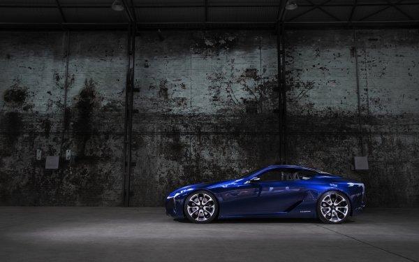 Véhicules Lexus LF-LC Lexus Concept Car Luxury Car Coupé Blue Car Fond d'écran HD | Image