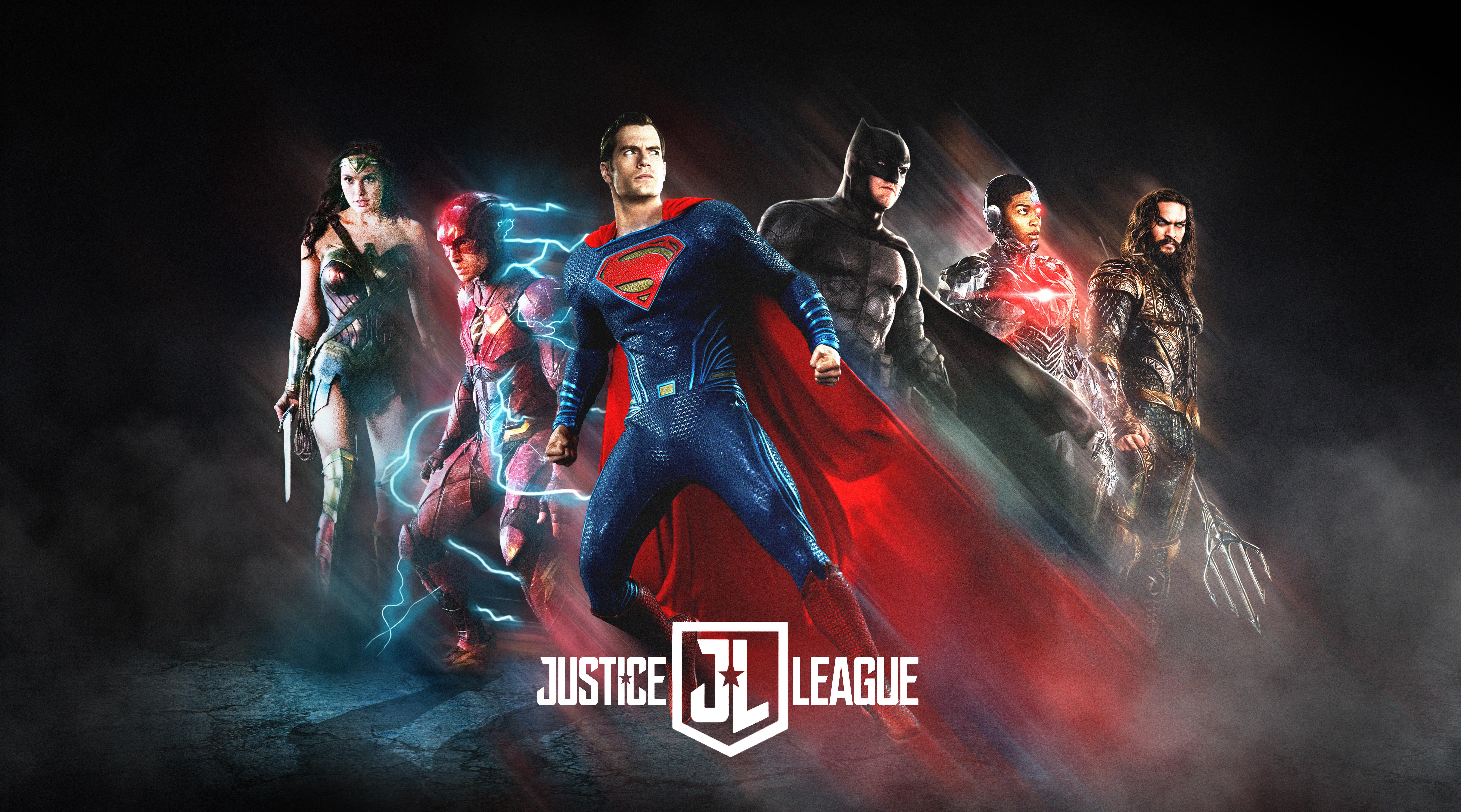Wonder Woman Justice League 4k Fan Art Hd Movies 4k: Justice League (2017) 8k Ultra HD Wallpaper