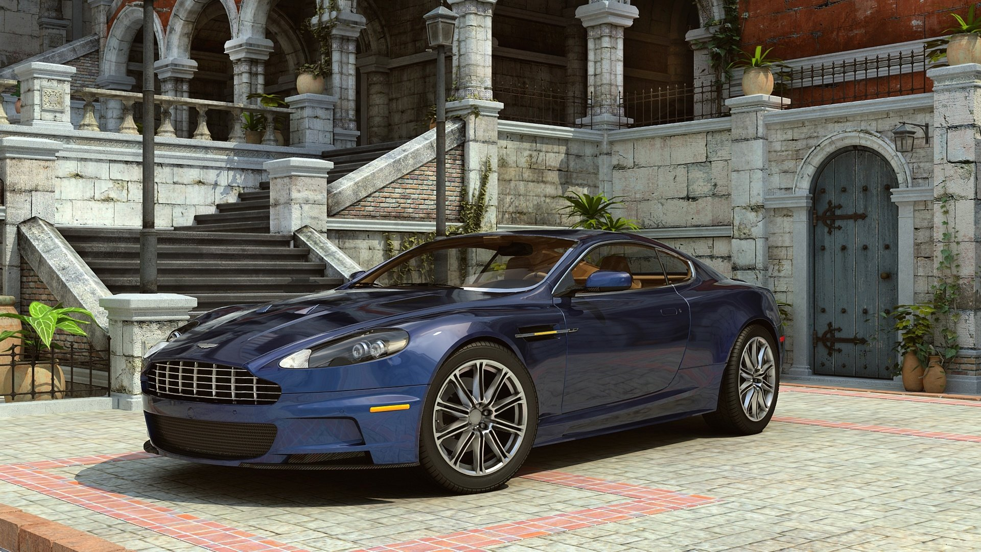 2 Aston Martin Dbs V12 Hd Wallpapers Background Images Wallpaper Abyss