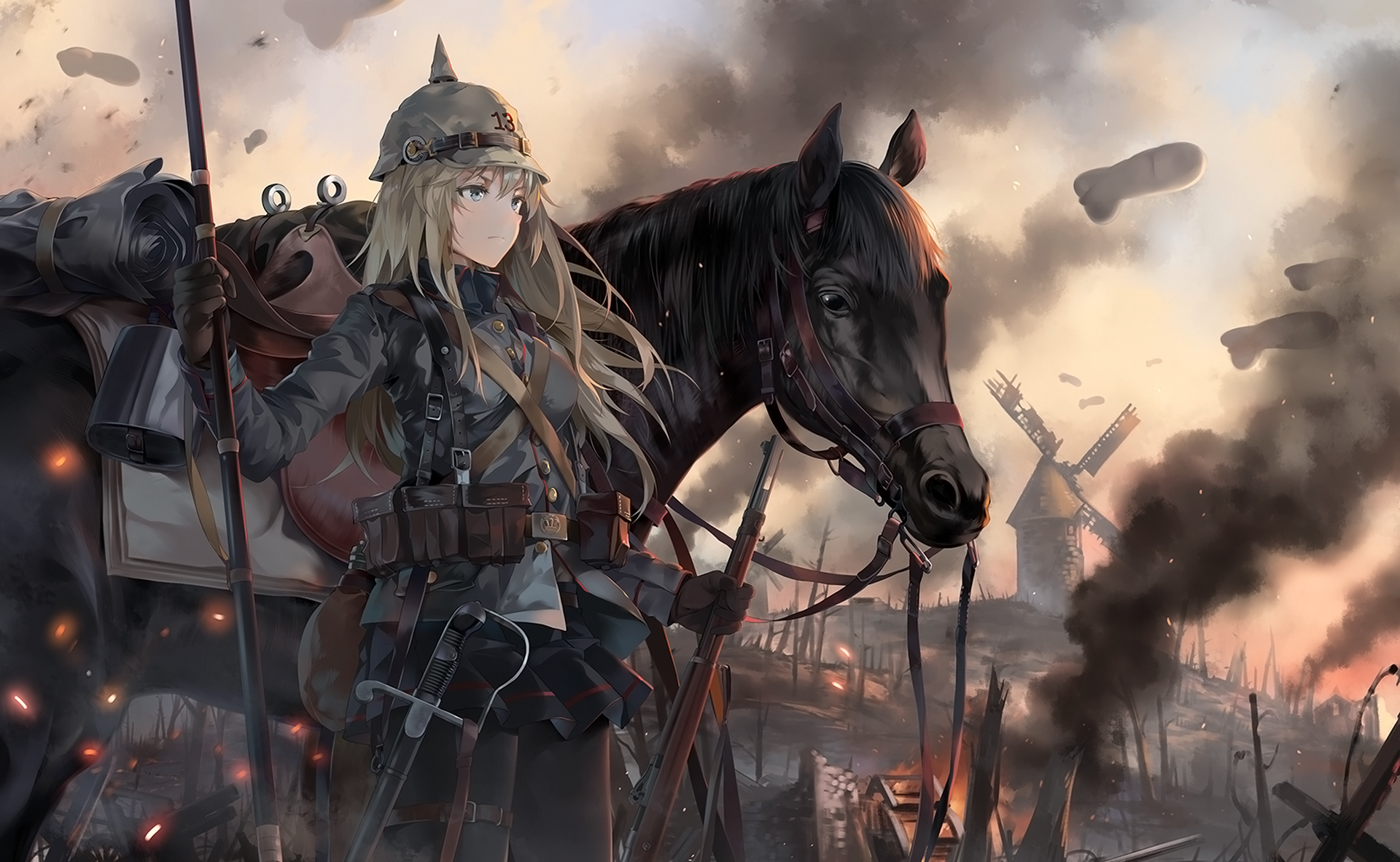 Military Anime Wallpapers Hd Quotes Backgrounds With Art: Original HD Wallpaper