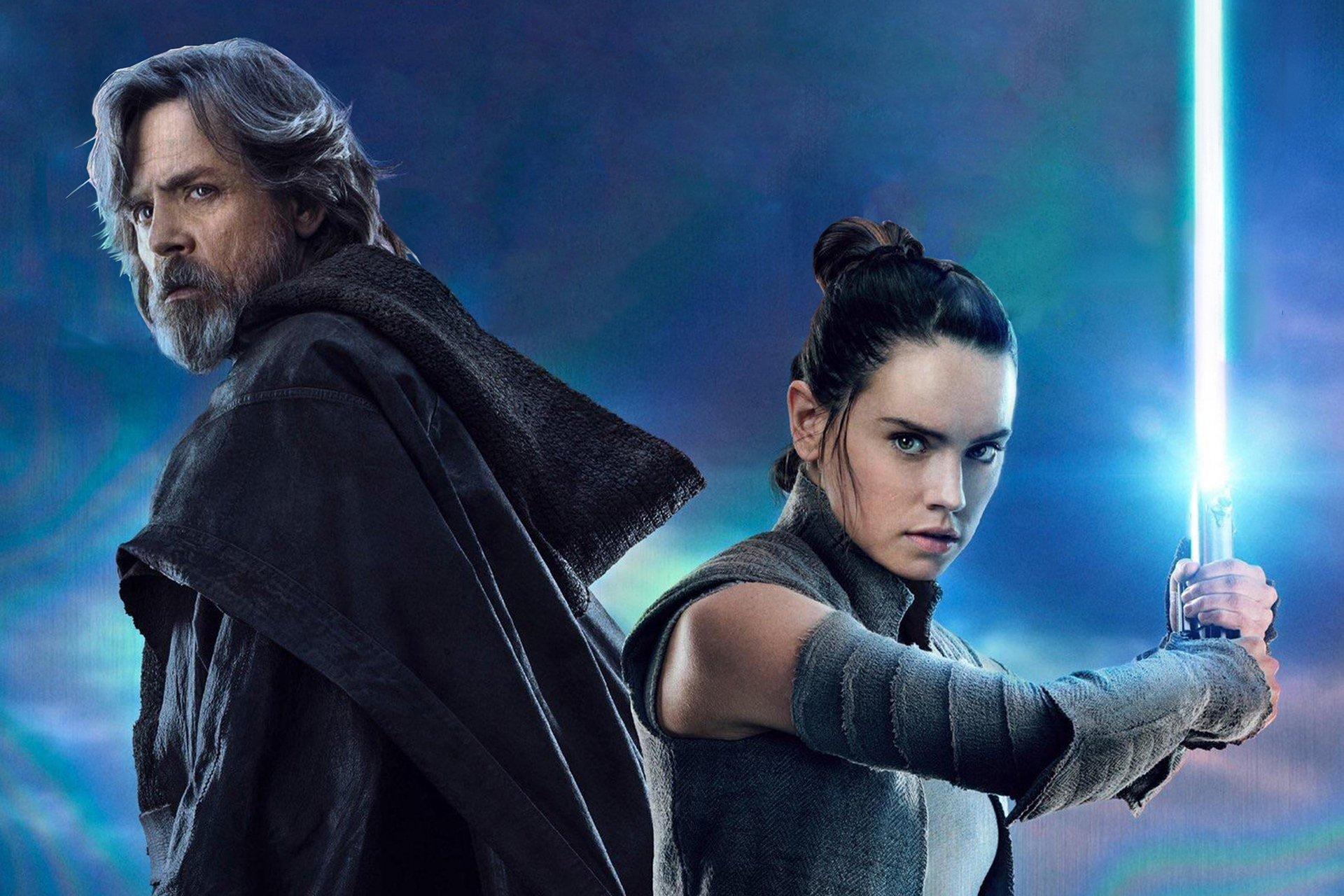 Luke Skywalker And Rey Hd Wallpaper Background Image 1920x1280