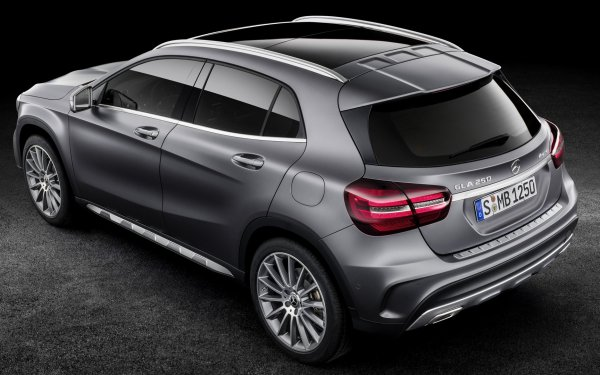 Vehicles Mercedes-Benz GLA-Class Mercedes-Benz Luxury Car Compact Car Crossover Car SUV Silver Car HD Wallpaper | Background Image