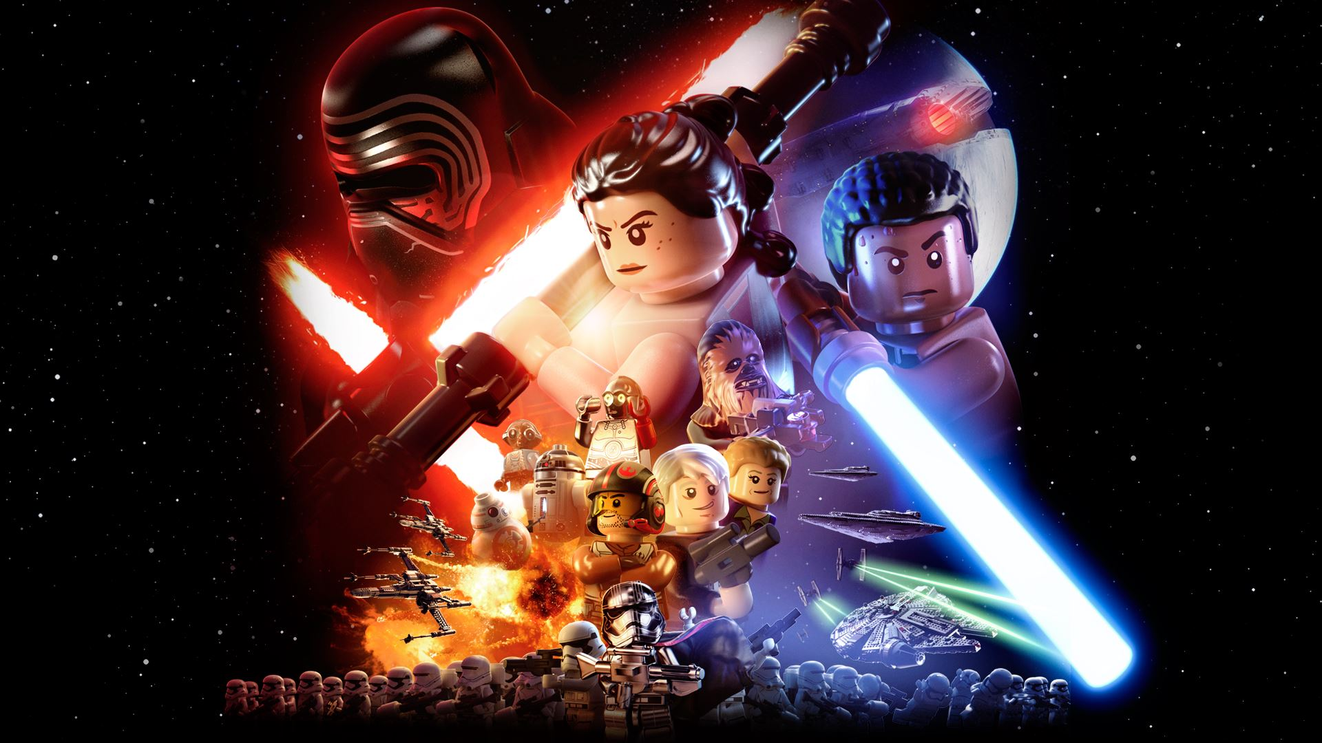 LEGO Star Wars The Force Awakens Full HD Wallpaper And Background