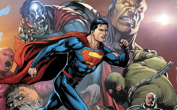 Comics Superman DC Comics Justice League Cyborg Superman Lex Luthor Clark Kent Mongul HD Wallpaper   Background Image