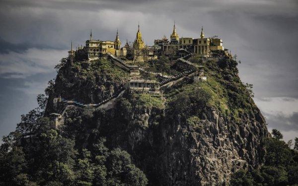 Religious Monastery Myanmar HD Wallpaper | Background Image