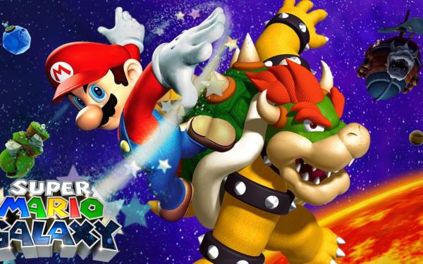 Video Game Super Mario Galaxy Mario Bowser HD Wallpaper | Background Image
