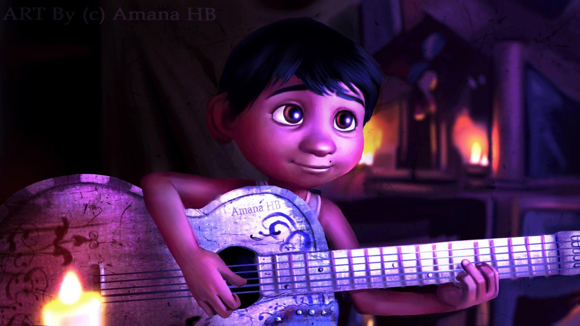 Movie - Coco  Pixar Coco (Movie) Miguel Rivera Disney Wallpaper