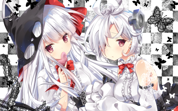 Anime Azur Lane Erebus Terror HD Wallpaper | Background Image