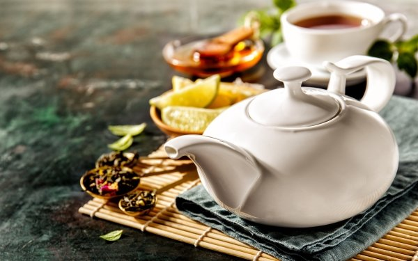 Food Tea Teapot HD Wallpaper | Background Image